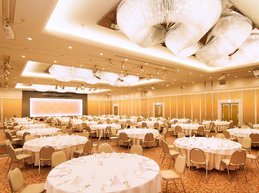 ユアーズホテルフクイには各種コンベンション、パーティーに対応した<br>宴会場がございます。イメージ0